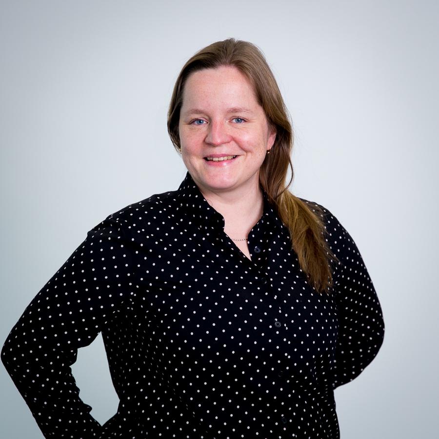 Säteri 6 aulapalvelupäällikkö Anna-Mari Lönn