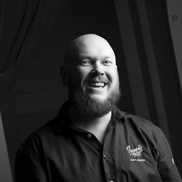 BAD-lounasravintolaketjun omistaja huipppukokki Matti Jämsen